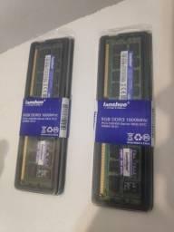 2 Memórias  DDR3  8 GB LACRADAS