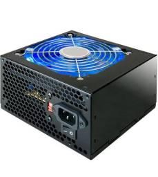 Fonte gamer 500W (conector Pci-ex e 2x12v) Led azul