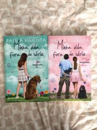2 livros Minha vida Fora de série
