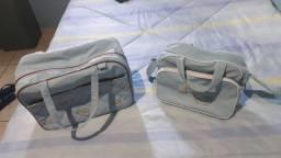 Conjunto de bolsas pra bebê