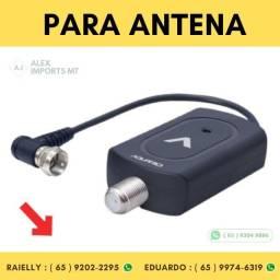 Amplificador de Linha 26 Ddi para Antena Externa de TV com 1 Saida esterna