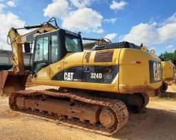 Escavadeira Caterpillar 324D LMe Parcelado