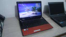Notebook acer gatway intel 2.0 4gb hd 320 led 14 hdmi wifi otimo aceito note ruim na troc
