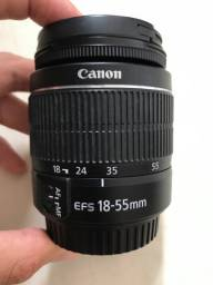 Lente 18-55 Canon