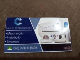 Refrigeração de central de ar e ar condicionado