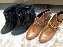 Vendo combo de botas