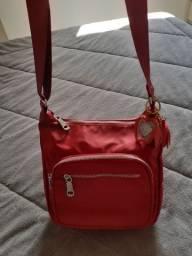 Bolsa nova nylon vermelha