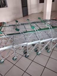 Carrinhos de compra para super mercado