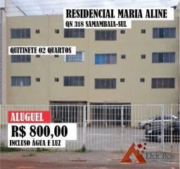 Aluguel, Apto 02 Quartos, 1 avenida samambaia sul