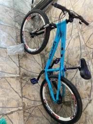 Bicicleta Gios Frx Freeride Aro 26 21V Câmbios Shimano Azul