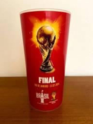 Copo Plástico Coca Cola Final Copa do Mundo 2014