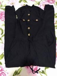 Macacão tecido com lycra veste do m ao g