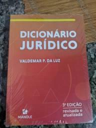 Livro vade mecum e dicionário jurídico