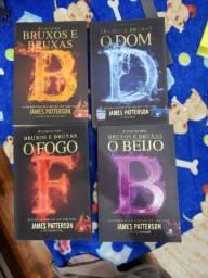 Coleção de livros bruxos e bruxas