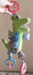 Brinquedo Bebê FisherPrice - Jacaré de atividades