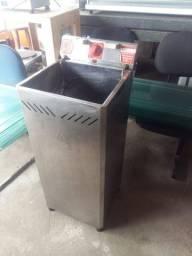 Fritadeira Industrial Elétrica Marchesoni Água e Óleo 25 Litros