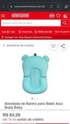 Almofada de banho azul - Buba