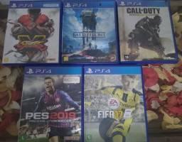 Jogos PS4 R$30,00
