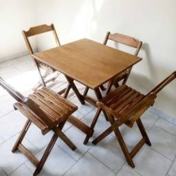 Mesas e cadeiras dobrável- Melhor Preço