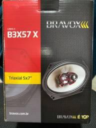 Alto falante bravox 5/7 novo na embalagem garantia instalado na hora em seu carro