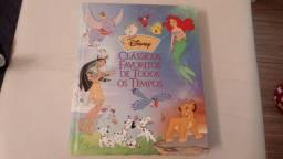Livro DISNEY Classicos Favoritos de Todos os Tempos