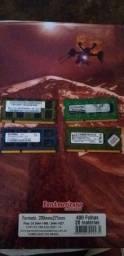 Conjunto de Memórias Ram de 2GB cada