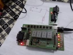 Kit programação microcontrolador  8051