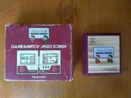 Game Watch Mario Bros.Nintendo-Multi Screen-raro! Em Perfeito estado! Caixa original!