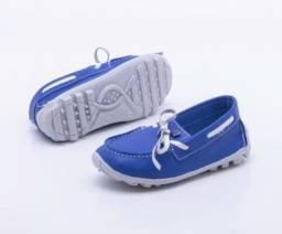 Sapato mocassim NOvO nr.22 Ortopé em couro