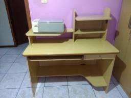 Escravaninha marfim/ mesa para escritório