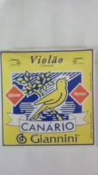 Encordoamento Violão Canário Nylon