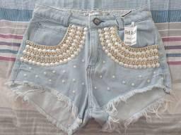 Vendo short jeans red rock número 40