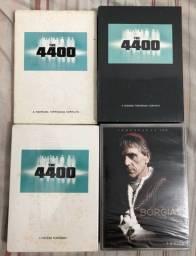 Séries em DVDs