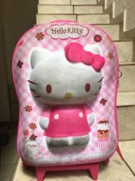 Mochila de rodinha 3D Hello Kitty