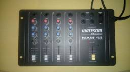 Mesa de Som Mixer Wattsom MXM4II - Ciclotron