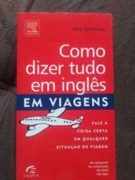 Livro-Como dizer tudo em inglês em viagens