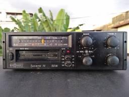 Radio Motoradio Tucano IV 50W um Clássico dos anos 80 da Chevrolet