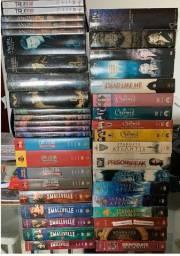 Lote DVDs Diversos. 34 Boxes Series + 34 Filmes. Todos Originais