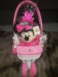 Carrinho Baby Love com Minnie