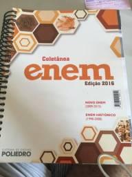 Livro Coletânea Enem edição 2016 poliedro