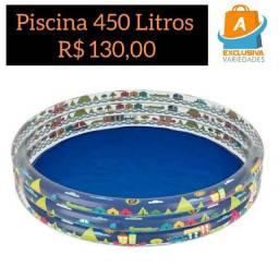 Piscina Infantil 450 Litros Mor + Entrega Grátis