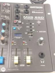 Mesa de som Wattsom mxs 8 sd