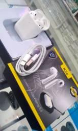 Fone bluetooth estilo Apple novo na caixa