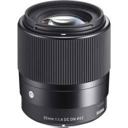 Sigma 30mm F/1.4 Dc Dn Sony E-mount