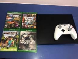Xbox one X 1tb + jogos