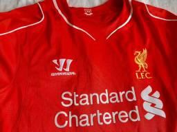 Camiseta liverpool oficial tamanho G
