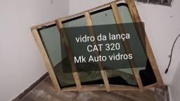 Vidro lateral Direito CAT 320