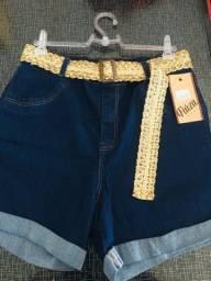 Short Jeans com Cinto