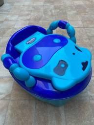 Troninho Azul Fazendinha Prime Baby