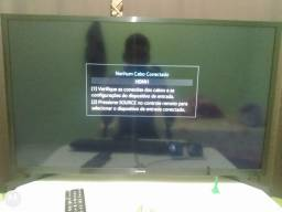 Pc completo com TV smart de 32 polegadas como monitor